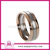 Wholesale rose gold plating wedding band hand
