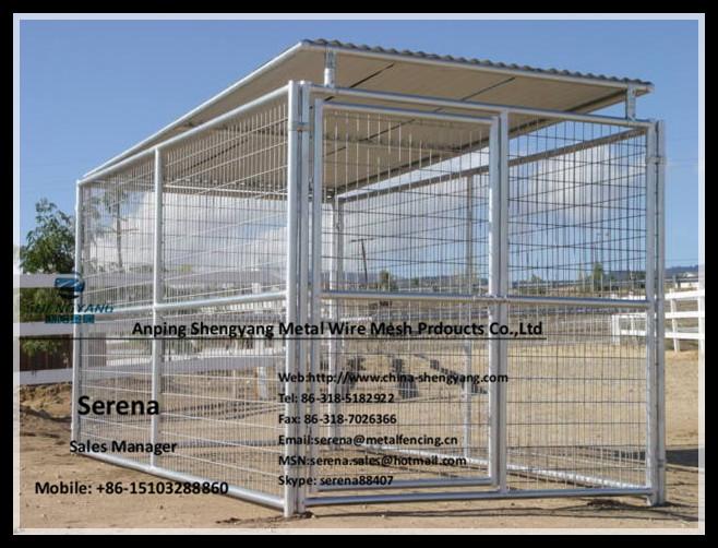 galvanized steel large dog kennels for sale (Popular in Australia)