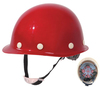 Special American safety helmet with chin strap for worker