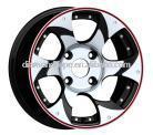14 inch black sport Wheel rims for car (ZW-X616)