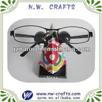 Colorful eyeglasses holder stand
