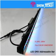 3 in 1 RGB Aluminum LED DMX Digital Bar
