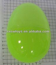 Enorme brinquedo ovos de 6 polegada ovo de páscoa de plástico