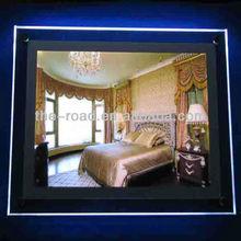 Guangdong manufacturer slim light box led display case lighting