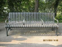 Antique style flat bar iron park bench/park bench plans for sale