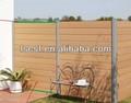 Madera de plástico valla/muro de cerramiento 1. 8m/2. 0m