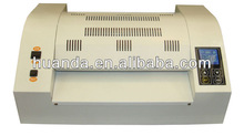 metal body 8 rollers a3 hot laminating machine HD-3308