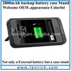LPB146 rechargable and backup battery case ,external power pack for iphone 5 iphone5s