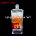 500ml de cristal botella de cristal para whisky, tequila.....
