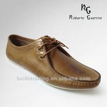 Genuine Leather Platform No Heel Shoes