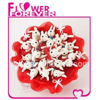 Plush Rabbit Bouquet Wedding Souvenirs China