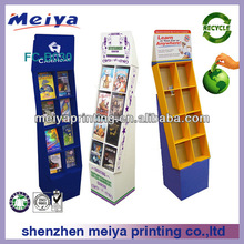 2014 Good quality top counter cardboard stand books/cards/ CD display, office display