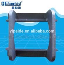 OEM dimension Hitachi EX120 excavator track guard