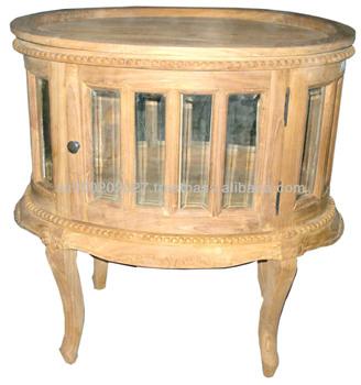 solid teak table