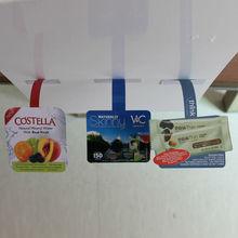 supermarket shelf promotional wobblers made of PP/PVC/PET