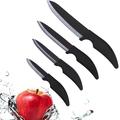 nobre 4 pcs cerâmica faca de combate