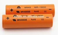 MNKE battery Original MNKE 18650 battery 30A high drain battery mnke 18650 battery for 134, Vamo, Kecigs