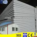 alta densidade de metal de parede deisolamento placa de sanduíche do eps