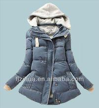 Winter Young women fashion coats 2015