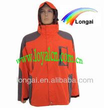 Hombres moda exterior impermeable chaqueta goretex