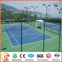 Fence China factory sport chain link metal fence decoration