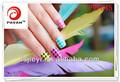Prego decoração de folha de papel& nail design
