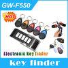 5 in 1 Electronic Alarm Wireless Remote Key Locator Smart Finder Key Locator With 1 Transmitter 5 Keychain Receivers GW-F550