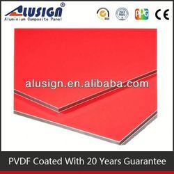 cover plastic 2014 china manufacture wholesale composite aluminum cladding