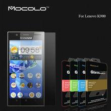 Mobile Phone Screen Protector Lenovo K900 9H Hardness Anti-explosion Tempered Glass Film