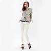 fashion tops mature floral ladies shirts YN0152