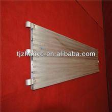 8'aluminumไม้กระดานนั่งร้านที่ใช้สำหรับการก่อสร้าง