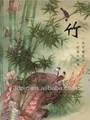 Ano novo chinês decorativo 3d imagem de bambu