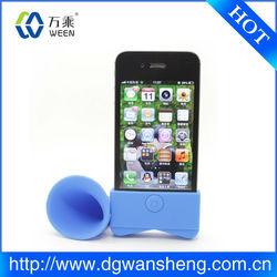 silicone hornspeaker , silicone louder speaker , silicone mini speaker