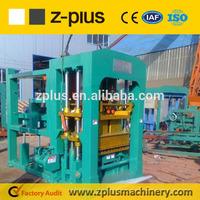 Big building equipment QTY10-15 road brick making machine on sale