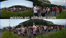 5mp IP camera 1080P, fisheye lens, 360 degree panoramic ip camera, ONVIF