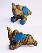 Elephant Doll & Toy Silk 006