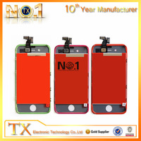 china wholesale lcd + glass screen for iphone 4s high quality