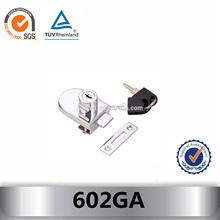 602GA glass door hidden cabinet lock