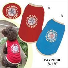 "pet apparel dog T-Shirts 8""-18"" direct supplier"