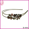 Indian fashion jewelry colored diamante hair accessories hair extensions headband