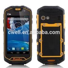 Runbo Q5 IP67 Waterproof Walkie Talkie Smartphone 4.5 Inch Gorilla IPS Screen 2GB RAM/32GB ROM 13.0MP Camera MTK6589T Quad Core