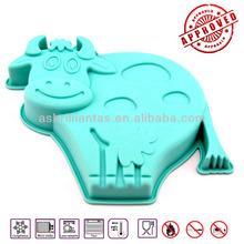 animal shape silicone food safe grade cake mould