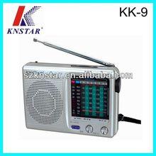 Ham pocket FM/TV/AM/SW1-7 radio