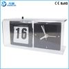 Retro Desk Flip Clock With Analog Flip Clock