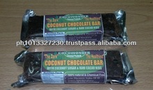 COCONUT DIETARY CHOCLOATE BAR: Non Dairy and Sugar Free