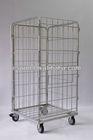 Galvanized steel pallet metal cage wine storage roll container in Cargo & Storage equipment