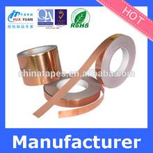 Single guided conductive copper foil tape