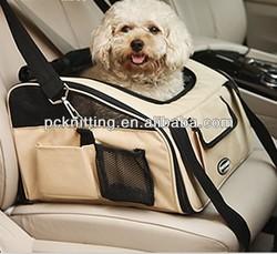 MOQ:50pcs 600D Oxford Cloth Dog Carrier Pet Bag Dog Vehicle Bag Pet Carrier Dog Products Pet Products in S/M