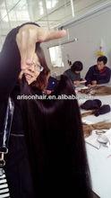 100% human hair Flip In Hair Extensions Halo Hair Extension Good quality