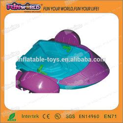 2014 hot sale cheap color kids plastic aqua paddler boat